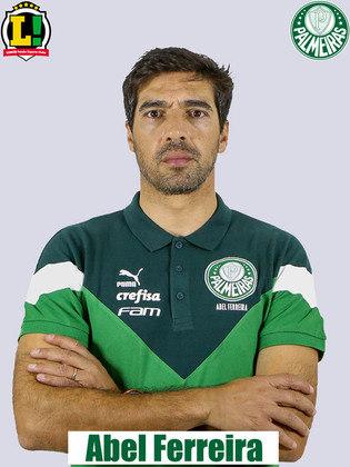 Abel Ferreira 7,0 - Soube montar uma boa estratégia mesmo com 12 desfalques e alcançou a sua quarta vitória no comando do clube. Começo de trabalho impecável.