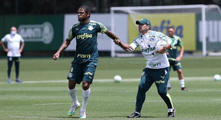 Abel Ferreira não terá seu jogador de referência no ataque. Enorme prejuízo