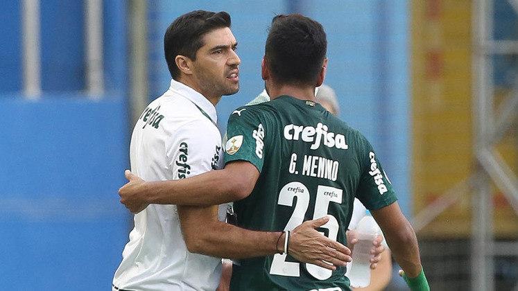 Abel Ferreira estreou pela competição contra o Delfín. Vitória por 3 a 1 e vaga às quartas encaminhada