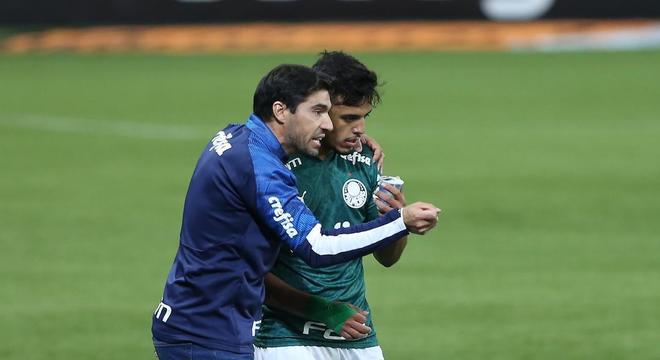 Abel Ferreira exigiu muita marcação nas intermediárias. Sem chance ao Bragantino