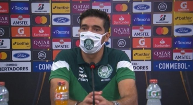 Abel Ferreira Palmeiras coletiva