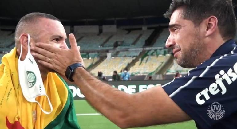 A postura de Abel Ferreira é radical. Não abrir mão de Weverton para a Olimpíada
