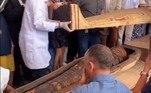 Aparentemente, todos perderam o medo de possíveis maldições envolvendo múmias egípcias