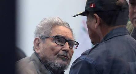 Na imagem, Abimael Guzmán