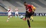 Abner ViníciusPosição: Lateral esquerdoIdade: 21 anosClube: Athletico Paranaense