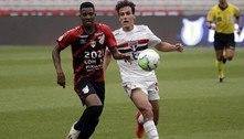 São Paulo empata com o Athletico e mantém a liderança do Brasileirão