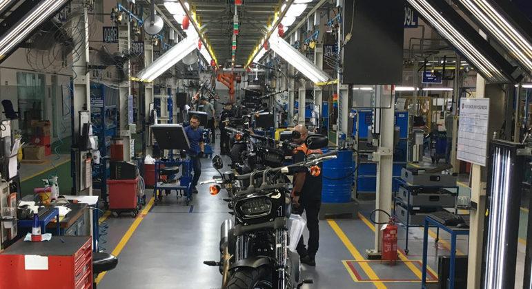 Montadora de veículos duas rodas do polo industrial de Manaus (AM)