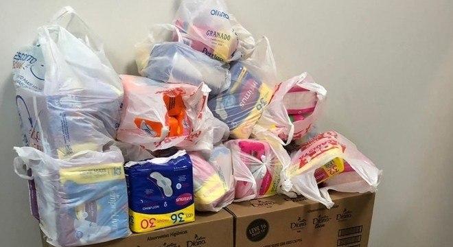 OAB arrecadou doações do material de higiene para distribuir para as detentas