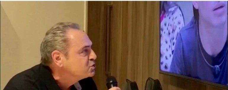 Abstinência de futebol? O narrador Luis Roberto aproveitou o paredão entre Felipe Prior e a cantora Manu Gavassi e fez uma narração com seus bordões.
