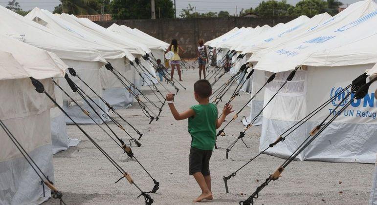 Abrigo para refugiados. Dia Mundial do Refugiado é celebrado neste domingo (20)