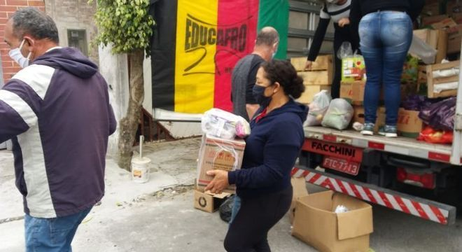 Ao todo 1.164 cestas serão entregues para família em situação de pobreza extrema