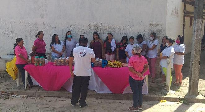 Voluntários realizaram ações com as famílias dos encarcerados no Pará