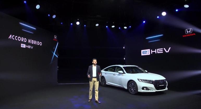 Segundo a Honda revelou na apresentação do sedã que aconteceu forma online, o Accord 2022 tem consumo de 17,6km/l na cidade
