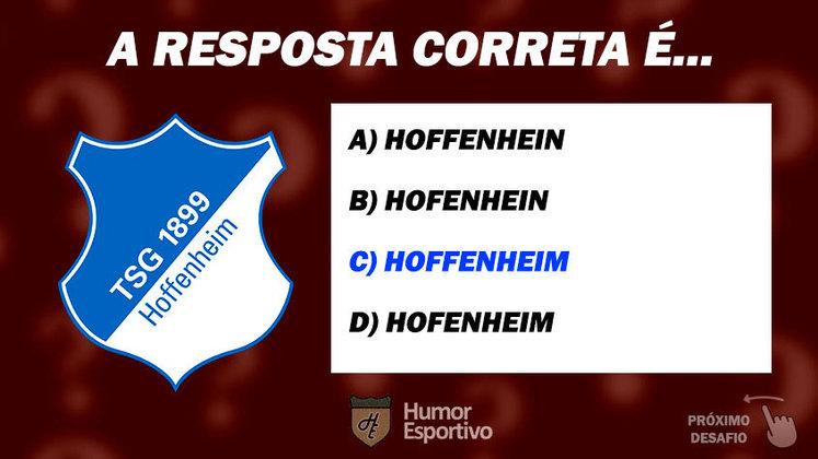 Acertou o Hoffenheim? Passe para o próximo time!