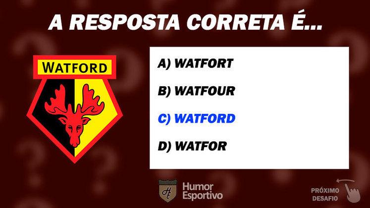 Acertou o Watford? Passe para o próximo time!