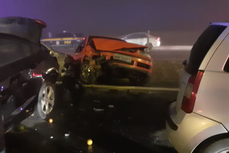 Veja fotos do grave acidente com 22 veículos no Paraná - Fotos ...