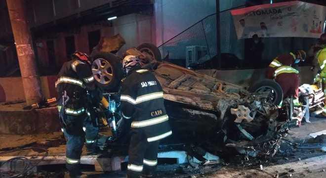 Acidente grave deixou quatro mortos e um ferido em Osasco, na grande São Paulo