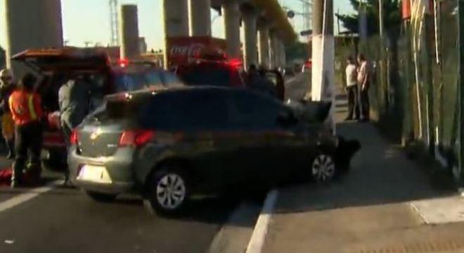 Criança fica gravemente ferida em acidente na Av. do Estado em SP