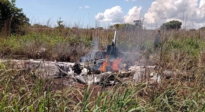 Avião caiu em Palmas e matou 4 jogadores de Palmas, presidente do clube e piloto