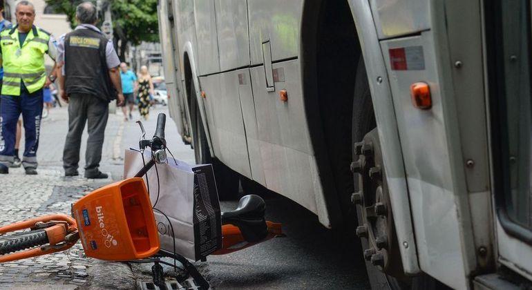 Este ano, foram registrados no país 6.792 acidentes graves com ciclistas de janeiro a maio