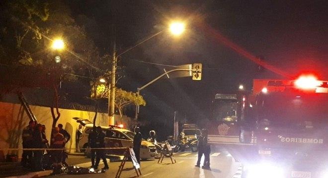 Motorista de carro de luxo é suspeito de ter atropelado quatro pessoas em SP