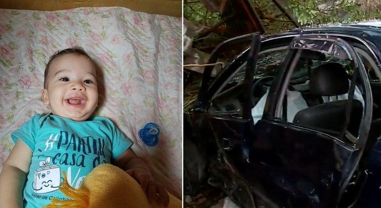Bebê e criança morrem após motorista embriagado bater em ponto de ônibus