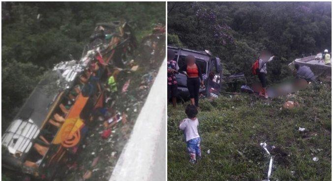 Familiares de vítimas de acidente fazem reconhecimento de corpos em Curitiba