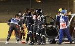 Mesmo com o impacto,Grosjean não desmaiou e ainda conseguiu se soltar do carro e escapou das chamas. Um dos piores acidentes dos últimos anos da F-1