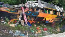 Acidente com ônibus deixa mortos e feridos emGuaratuba (PR)