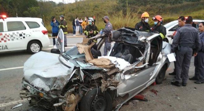 Acidente grave deixou três mortos e sete feridos