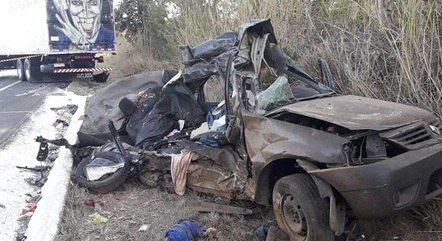 Seis pessoas morreram no acidente na BR-135