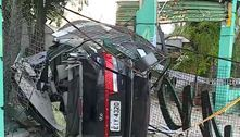 Carro capota, invade loja e mata jovem na zona norte de São Paulo