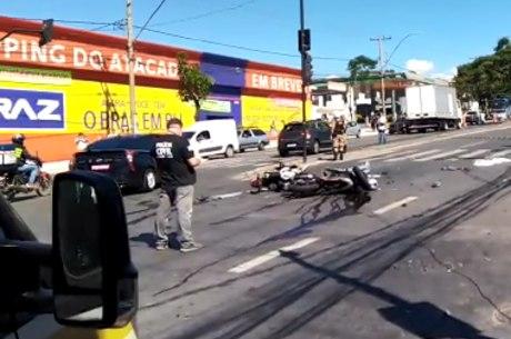 Acidente aconteceu na Avenida Amazonas, em BH