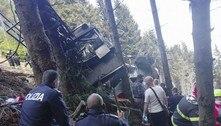 Itália prende 3 pessoas por tragédia em teleférico que matou 14