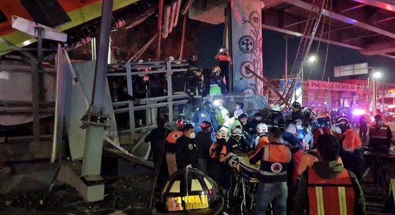 Acidente no metrô da Cidade do México deixa dezenas de mortes e feridos