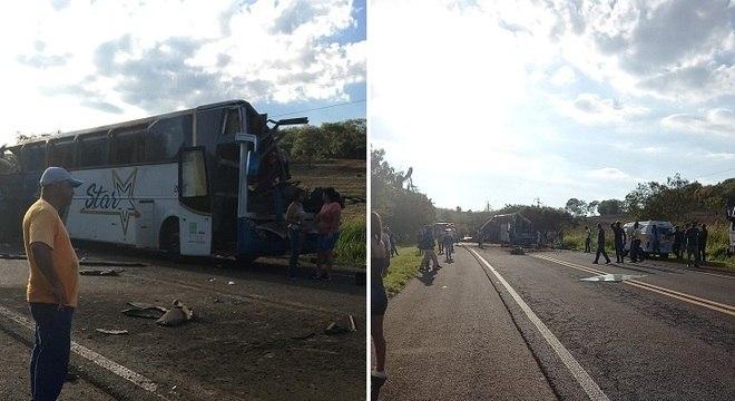 Acidente ocorreu na rodovia Alfredo de Oliveira Carvalho, km 171