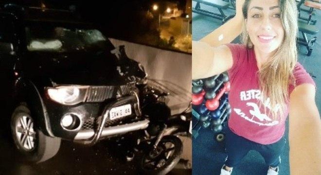 Andreza Irdelene de Oliveira foi socorrida mas não resistiu aos ferimentos