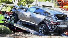 Velocidade excessiva causou acidente de Tiger Woods, diz polícia