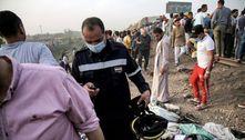 Acidente de trem deixa cerca de 100 feridos no norte do Egito