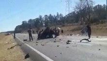 Acidente com 4 carros mata 3 da mesma família no interior de SP