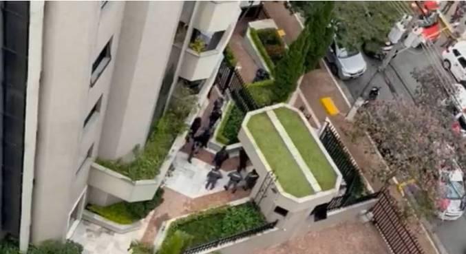 Assaltantes invadiram prédio na Aclimação, zona sul de SP, nesta terça (22)