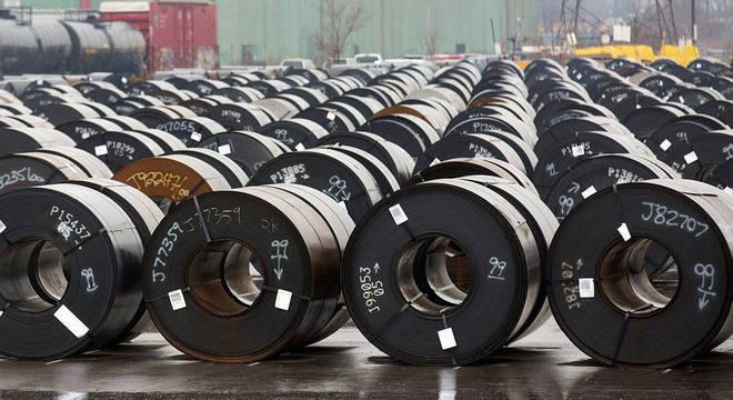 Brasil é o 2º maior exportador de aço para os EUA; em 1º está o Canadá, que não será afetado