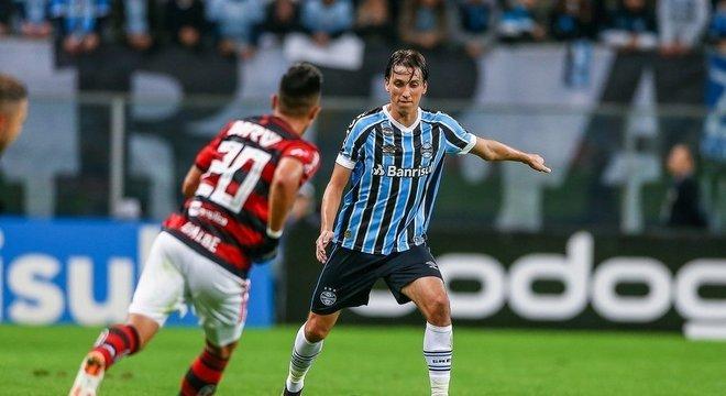 67c43180a3 Acompanhe Flamengo x Grêmio tempo real Crédito  Lucas Uebel   Grêmio    Flickr   Divulgação