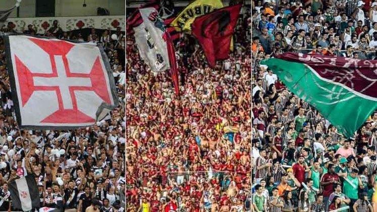 Acompanhe nesta galeria o comportamento do tamanho das maiores torcidas dos grandes do futebol brasileiro nos últimos 22 anos, através das pesquisas LANCE! Ibope de 1998, 2001, 2004, 2010 e 2014 e da Pluri Consultoria, em 2020. E veja, no fim desta galeria,  quantos milhões seu time tem de torcedores