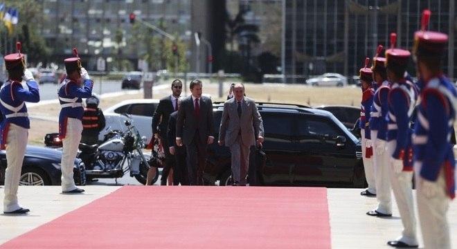 Ministro Aloysio Nunes Ferreira recebe o paraguaio Luis Alberto Castiglioni