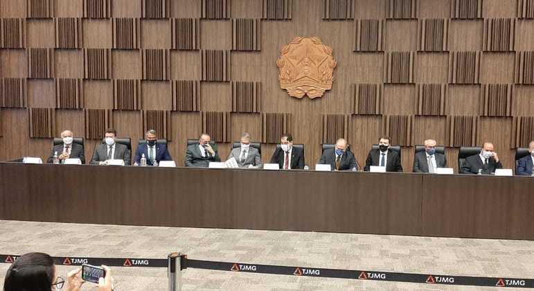 Acordo entre Vale e Governo de Minas foi assinado nesta quinta-feira (4), na sede do TJMG
