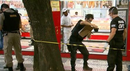 Investigadores recolheram faca usada no crime