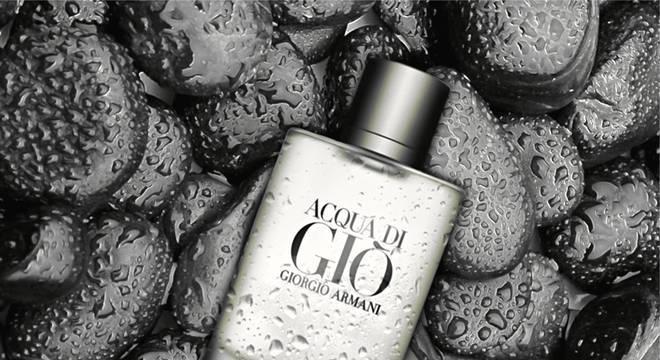 Acqua di Gio é um dos perfumes mais elogiados pelas mulheres