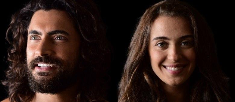 Adão e Eva iniciam a primeira fase da superprodução Gênesis