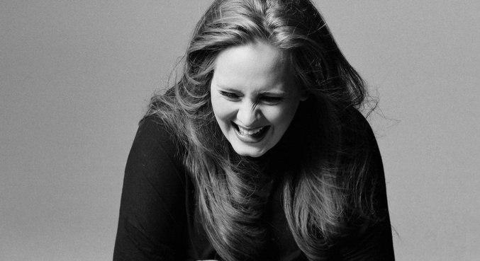 Adele em imagem inédita do ensaio para o encarte do álbum '21'